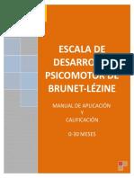 Test Brunet Lézine Completo
