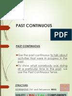 Past Continuous Upl