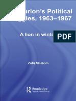 [Zaki Shalom] Ben-Gurion's Political Struggles, 19(B-ok.org)