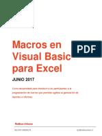 Macros en Visual Basic Para Excel