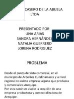 Arequipe Casero de La Abuela Ltda.pptx