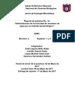 Práctica 12 Ecología 1