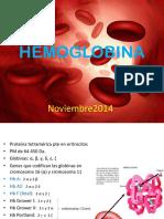 Hemoglobina y Nutricion