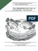 Biologia Reproductiva de Tilapia