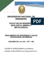 Resumen Del d.s. 024-2017-Em