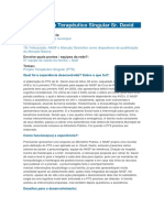 PTS (Projeto Terapêutico Singular)