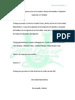 Proyecto de Investigación Acerca de La Temática Violencia a Los Menores e Ignorancia Por Parte Del Legislativo en Colombia
