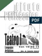 19103-14 Leng Artisticos - Teatro i
