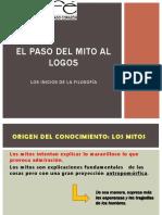 3 Paso Del Mito Al Logos