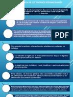 Características de Los Tratados Internacionales - Tema 5