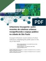 ENANPUR 2017 Urbanismo insurgente