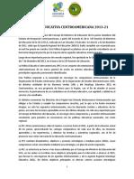 politicas educativas centroamericanas