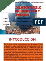 Desarrollo Sostenible - Etico y Politico