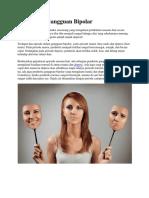 Pengertian Gangguan Bipolar