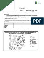 evaluacion familias instrumentos 7° basico