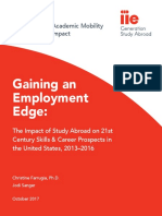 gaining an employment edge - the impact of study abroad