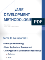 Software Development Methodologies Report