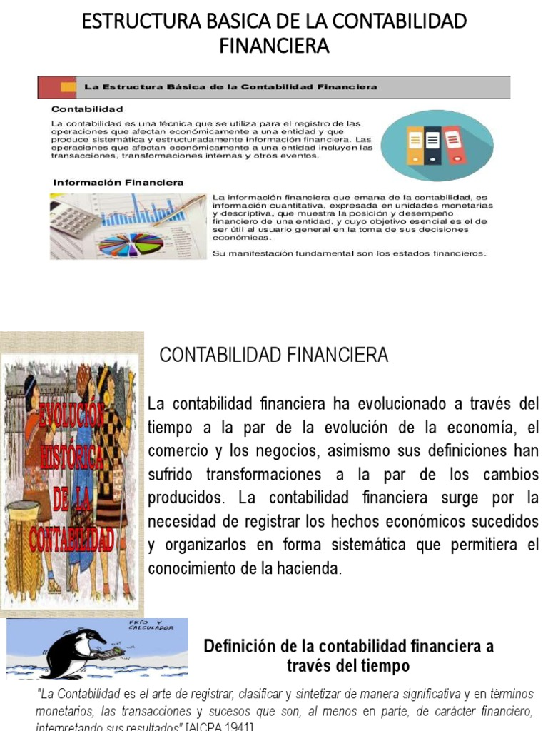 Clase 4estructura Basica De La Contabilidad Financiera Clase