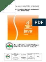 CBLM - Perform Java OOP