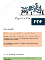 2.3.1 La Funcion de Organizacion