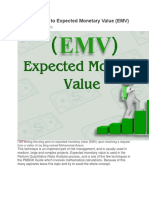 A Short Guide to Expected Monetary Value
