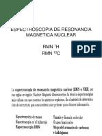 Espectroscopia de Resonancia Magnetica Nuclear
