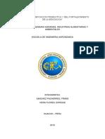 Sustentabilidad de Los Sistemas de Produccion Agricola y Biodiversidad de La Tuna