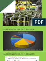 Ingeniería Agroindustrial - Clase 1