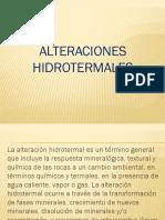 ALTERACIONES HIDROTERMALES