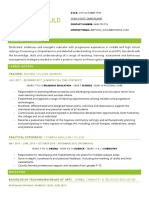 brittany gould resume
