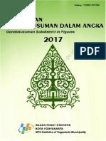 Kecamatan Gondokusuman Dalam Angka 2017