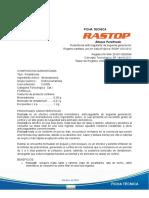 Ficha Tecnica Rastop Bloques