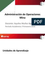 1Administración de Operaciones Mina