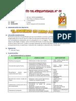 PROYECTO DE APRENDIZAJE N°08 - ELABOREMOS UN LIBRO DE POESÍAS PARA TACNA