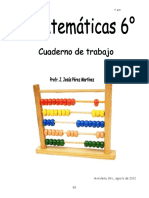 Cuadernillo de Trabajo Matemáticas 6to-Me