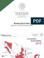 Blindaje Electoral 2015