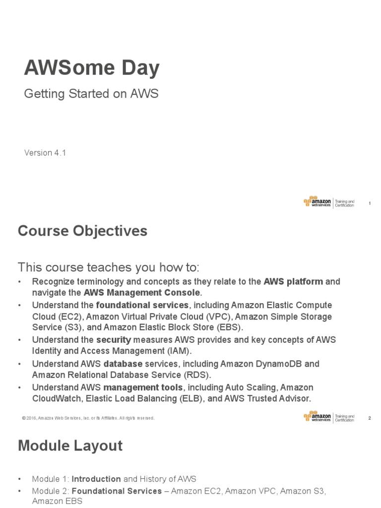 Aw Someday | Amazon Web Services | Cloud Computing