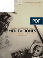 MeditacionesTiempo Retiro