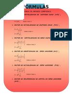 Fórmulas Cap 2