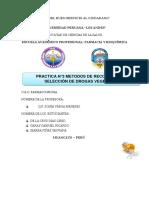 Practica 3 Farmacognosia