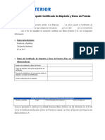 Solicitud Para Expedir Certificado de Deposito y Bono de Prenda