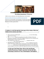 the italian renaissance webercize