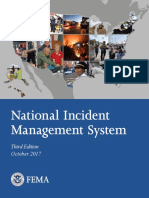 National Incident Management System (NIMS) 2017 Edition