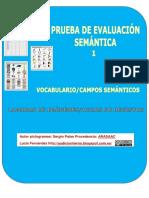 Prueba Evaluacion Semantica1 Vocabulario Campos Semanticos