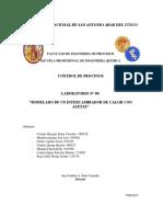 MODELADO DE UN INTERCAMBIADOR DE CALOR CON ALETAS