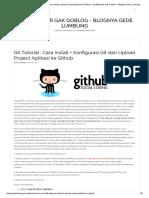 Git Tutorial _ Cara Install + Konfigurasi Git dan Upload Project Aplikasi ke Github – Ng`Blog Biar Gak GobloG – BlogNya Gede Lumbung