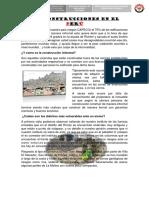 Las Construcciones en El Perú