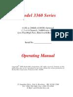 3360 Manual