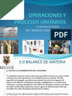 Operaciones y Procesos Unitarios 5