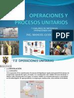 Operaciones y Procesos Unitarios 7